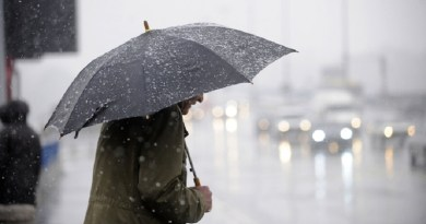 Maltempo: piogge e venti forti al Sud