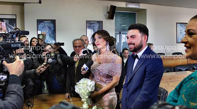 Matrimonio In Italia Con Cittadino Americano : Video aversa alessia e michele sposi lei è la prima