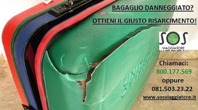 Risarcimento per bagaglio perso o danneggiato