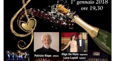Concerto di Capodanno al Teatro delle Palme del 1gennaio 2018