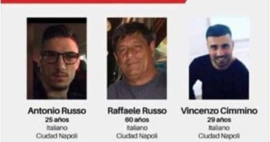 Napoletani scomparsi in Messico, fonti Procura Jalisco: 'Russo utilizzava falso nome'