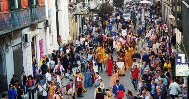 (VIDEO) Aversa Millenaria, successo per i festeggiamenti in attesa del millennio normanno