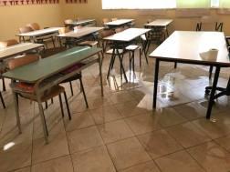 aula classe scuola acqua