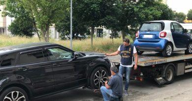 Maddaloni. 'Camorra dei videogiochi', scacco matto al clan Belforte: GdF sequestra auto a prestanomi