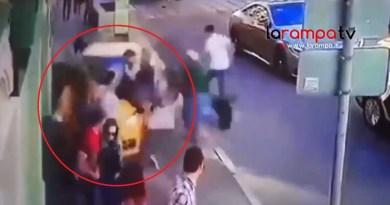 (VIDEO) Taxi travolge pedoni a Mosca