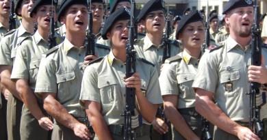 Capua. 1000 volontari dell'E.I. hanno giurato fedeltà alla Repubblica Italiana