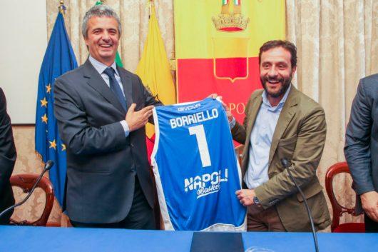 napoli basket_presidente grassi_assessore Borriello