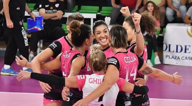 Volley Femminile. Blitz esterno della VolAlto Caserta: espugnata Roma