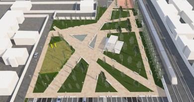 """(FOTO) San Cipriano. Area sportiva, Caterino: """"Il progetto è alla stazione appaltante"""""""