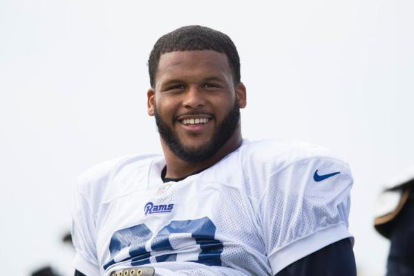 DT #99 Aaron Donald (photo credit: Ric Tapia / www.therams.com)