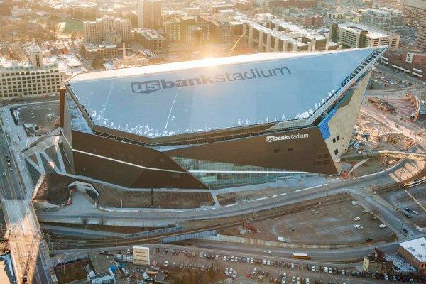 U.S. Bank Stadium photo source: www.vikings.com)