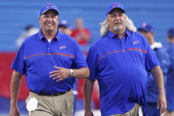 Rex og Rob Ryan photo credit: AP Photo)