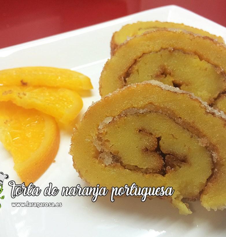 Torta de naranja portuguesa