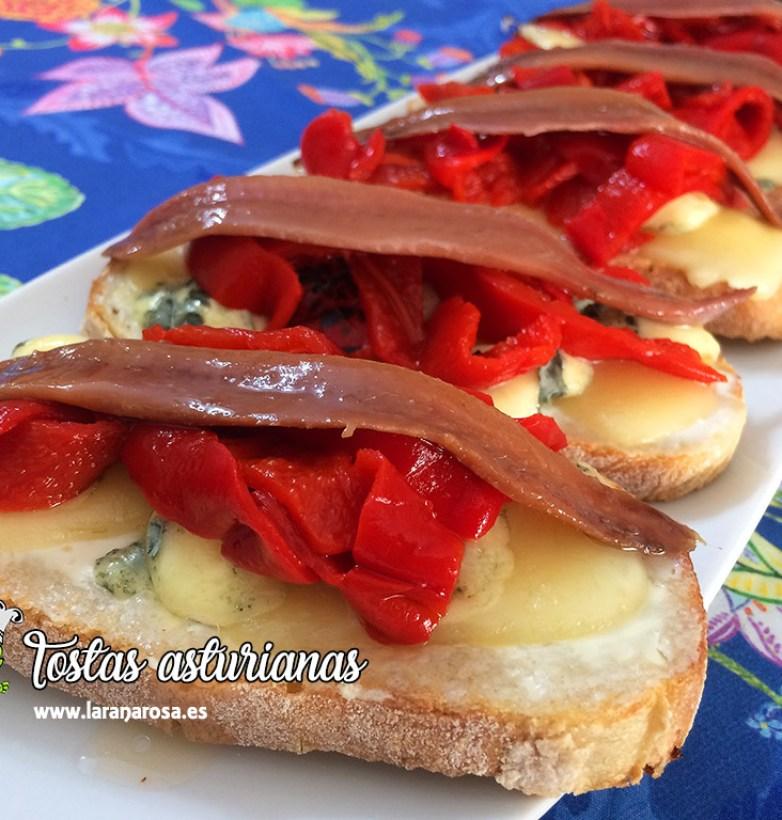 Tostas asturianas