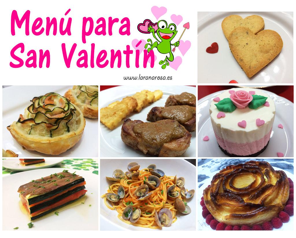 Pincha en la imagen para ver las recetas de San Valentín de la rana Rosa