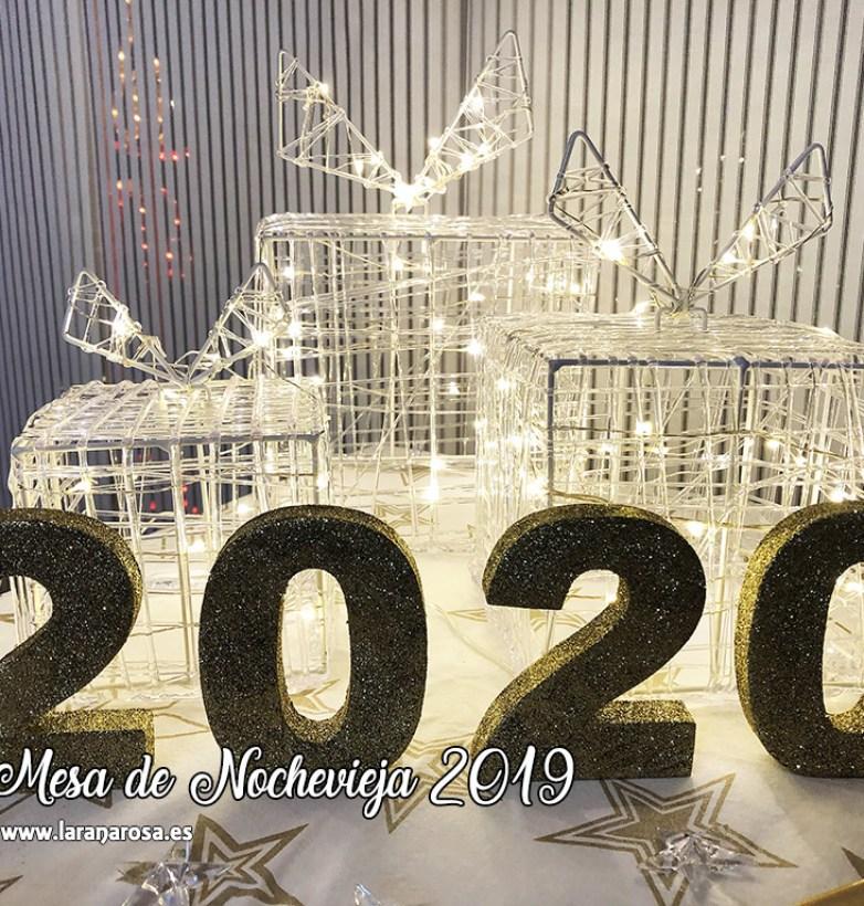 Mesa de Nochevieja 2019