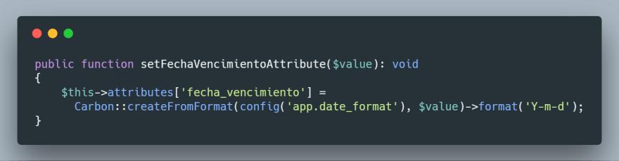 Parametrizando formato de fecha