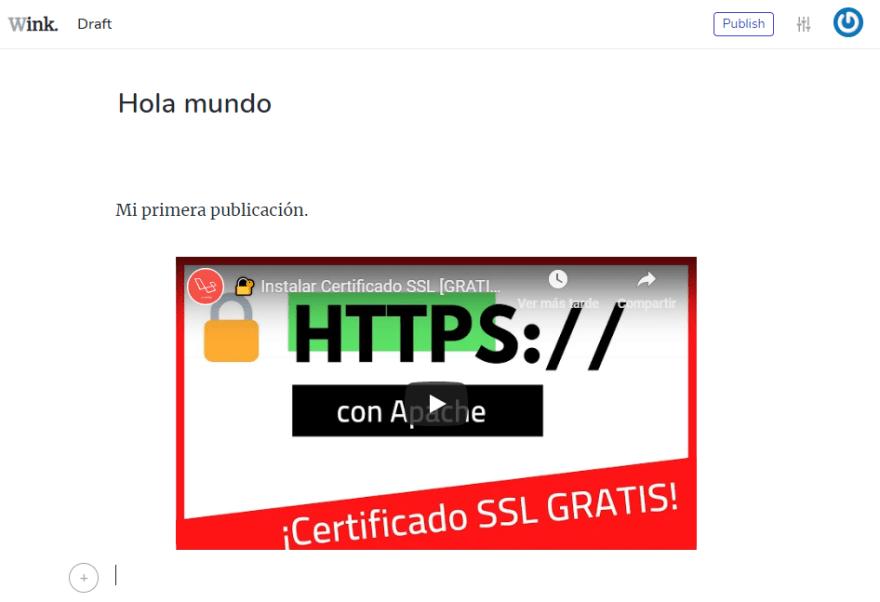 codigo html Wink