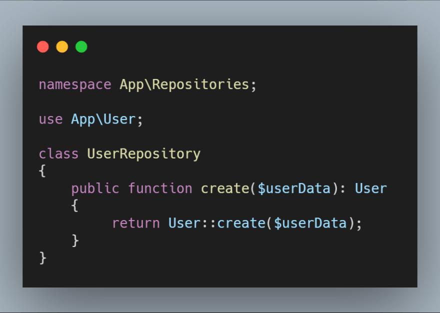 SRP - UserRepository
