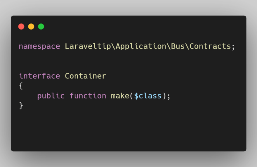 interface Container
