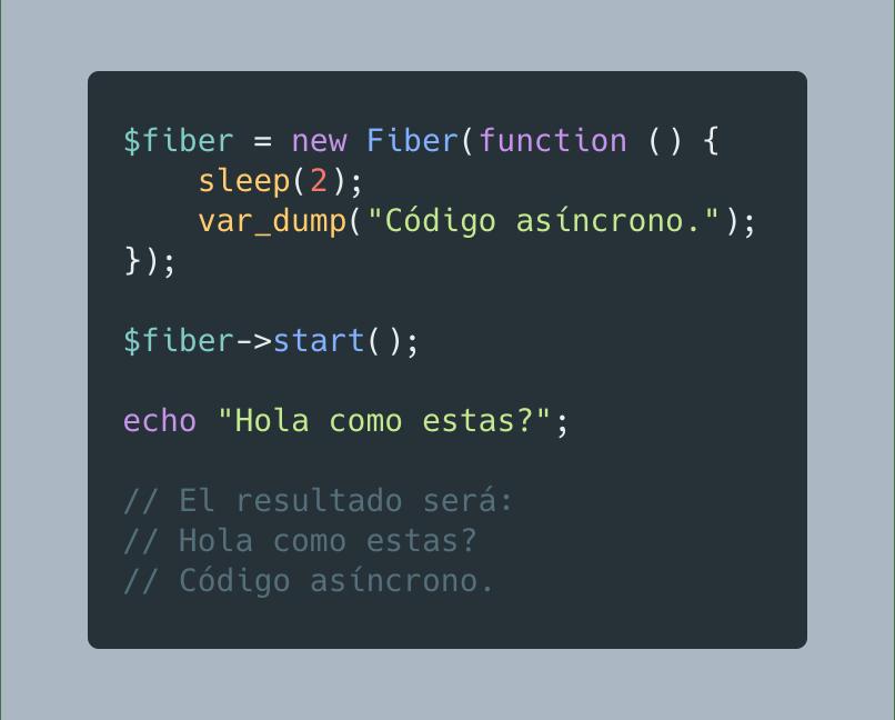Fibers en PHP 8.1
