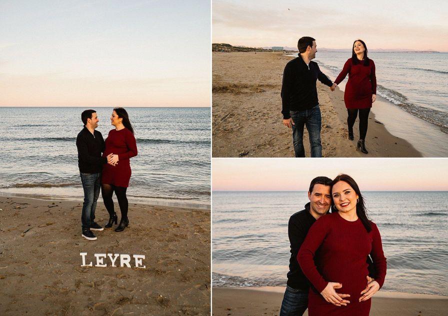 reportaje de embarazo playa en torrevieja