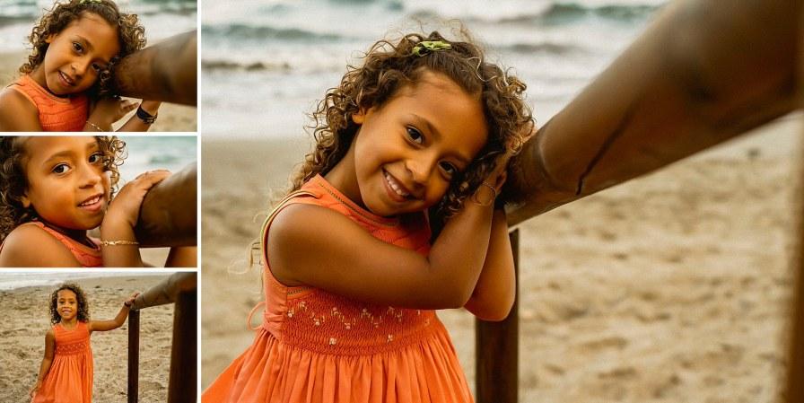 sesión infantil en la playa de Torrevieja