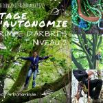 2 Stages d'autonomie Grimpe d'Arbres 09-10/06/2018 – Témargat (22)