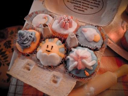 cupcake à 8 mains