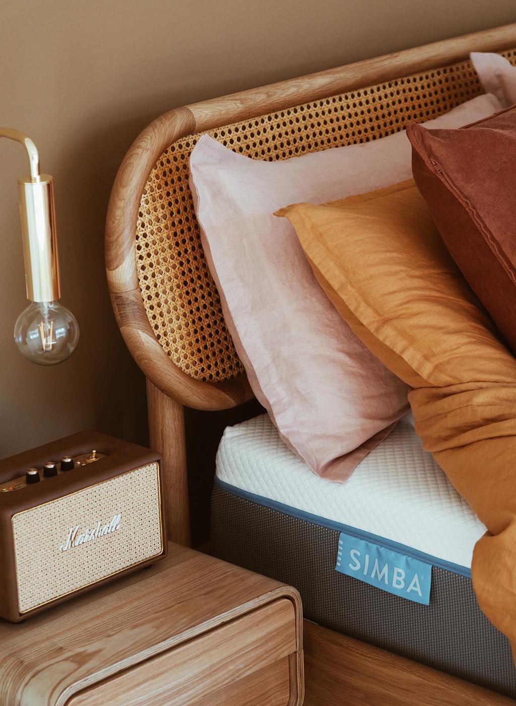 bedroom styling, Simba Sleep, bedroom makeover, renovation, interior styling