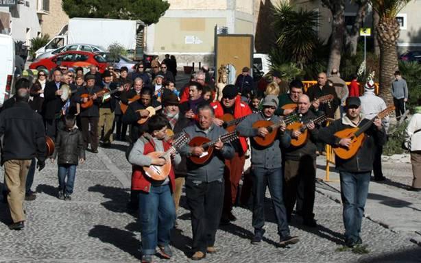 Arroz y vino para festejar San Sebastián en Cehegín