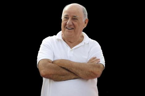 El fundador de Inditex, Amancio Ortega.