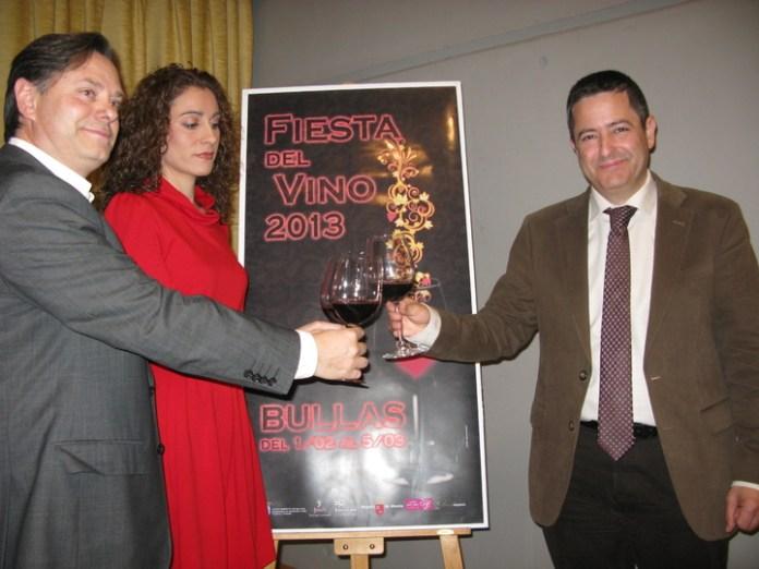 Presentación de la Fiesta del Vino de Bullas 2013