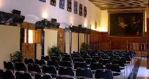 Salón de Plenos del Ayuntamiento de Caravaca