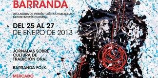 Cartel de la Fiesta de las Cuadrillas 2013 ::Barranda::