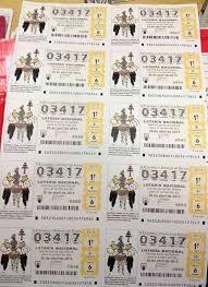 Décimo sorteo Lotería Nacional en Caravaca de la Cruz