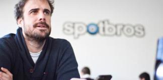 Fernando Calvo, cofundador de la aplicación española Spotbros