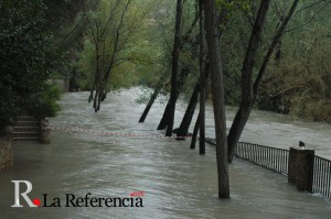 Inundación en el Santuario de la Esperanza