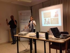 'Identifícame' presentación en Caravaca con Diego intérprete en lengua de signos