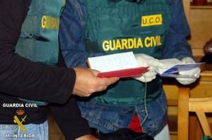 Registro de la UCO en el Ayuntamiento de Caravaca de la Cruz