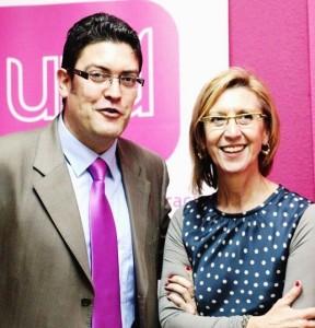 Miguel Sánchez y Rosa Diez