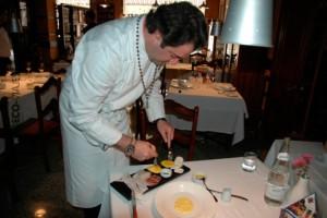 Firo Vazquez en su restaurante de Moratalla El Olivar
