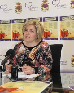 Concejal Cultura y Turismo Mª Cruz Perez