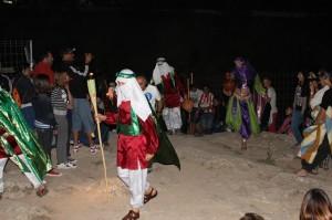 Bajada de la Mora en 2013, Bullas