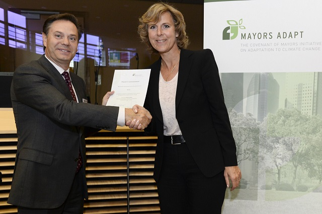 Mayors Adapt event