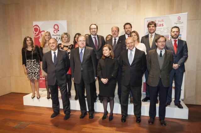 Acto inaugural del V Centenario.