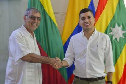 Alcalde y Minvivienda trabajarán para que Cartagena sea una ciudad de propietarios