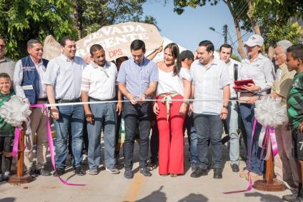 Directos del DPS y alcalde de Valledupar inauguraron vías