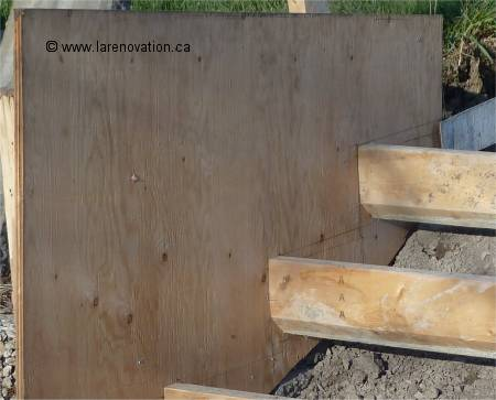 Fabriquer Un Escalier De Beton