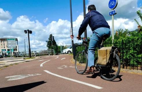 Les aménagements cyclables, qu'ils soient spécifiques ou pas, se montent à 420 kilomètres dans l'agglomération.? - Photo d'illustration Pascal Proust